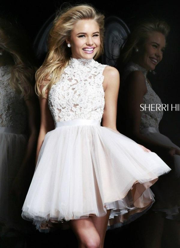 къса сватбена рокля воали