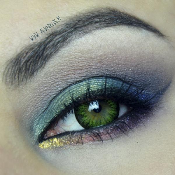 грим зелени очи идеи