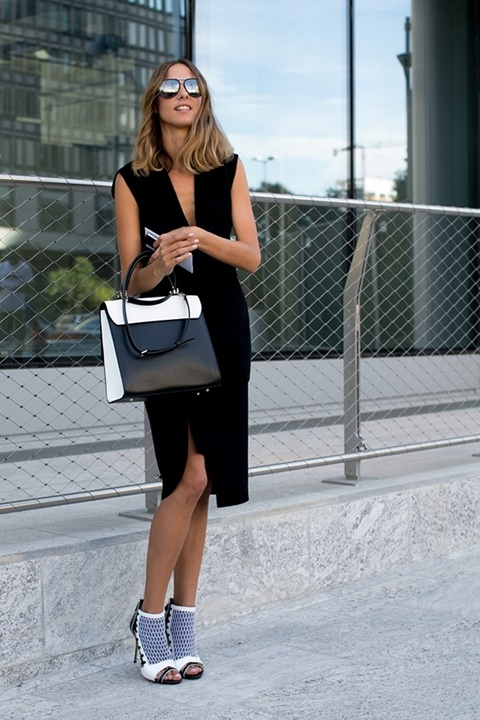 малка черна рокля обувки
