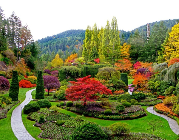 места които да посетите сами ботаническа градина цветя