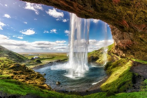 места които да посетите сами водопад исландия
