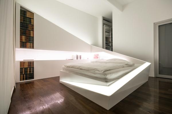 модерни спални интериор дърво бяло идеи