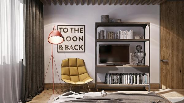 модерни-спални-интериор-лампа-завеси