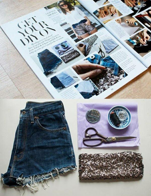 направи-си-сам-декорация-на-къси-панталони-дънки
