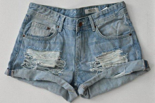 направи си сам декорация на къси панталони идея