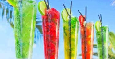 нискокалорични коктейли за лятото