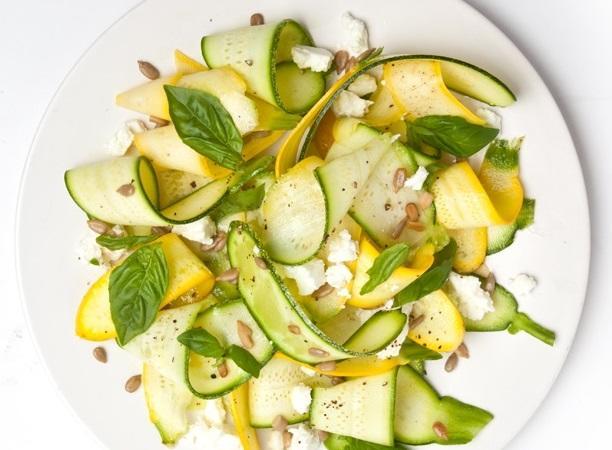 рецепти с тиквички салати