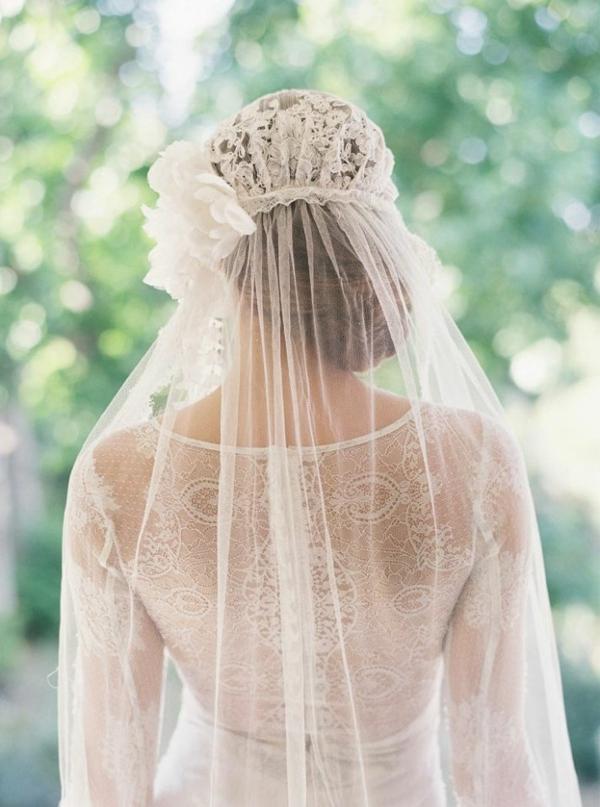 сватбени аксесоари коса воал