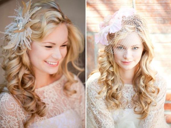 сватбени аксесоари коса