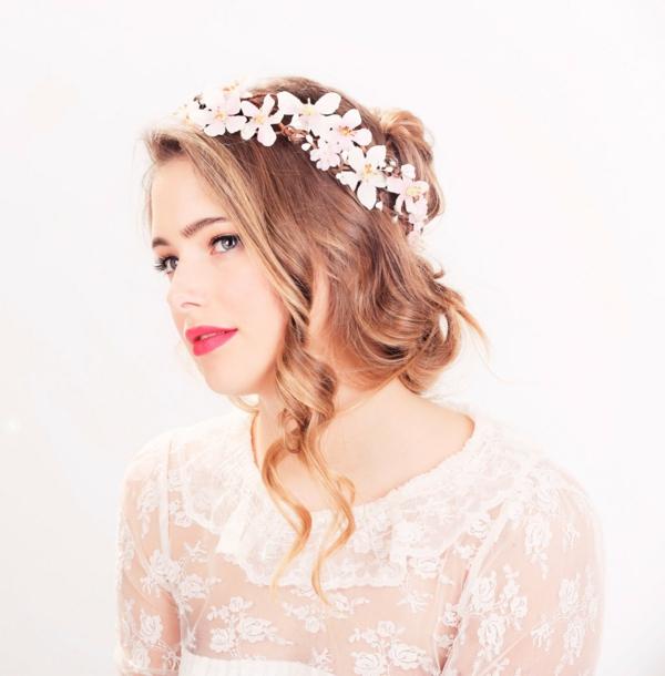 сватбени аксесоари коса венец