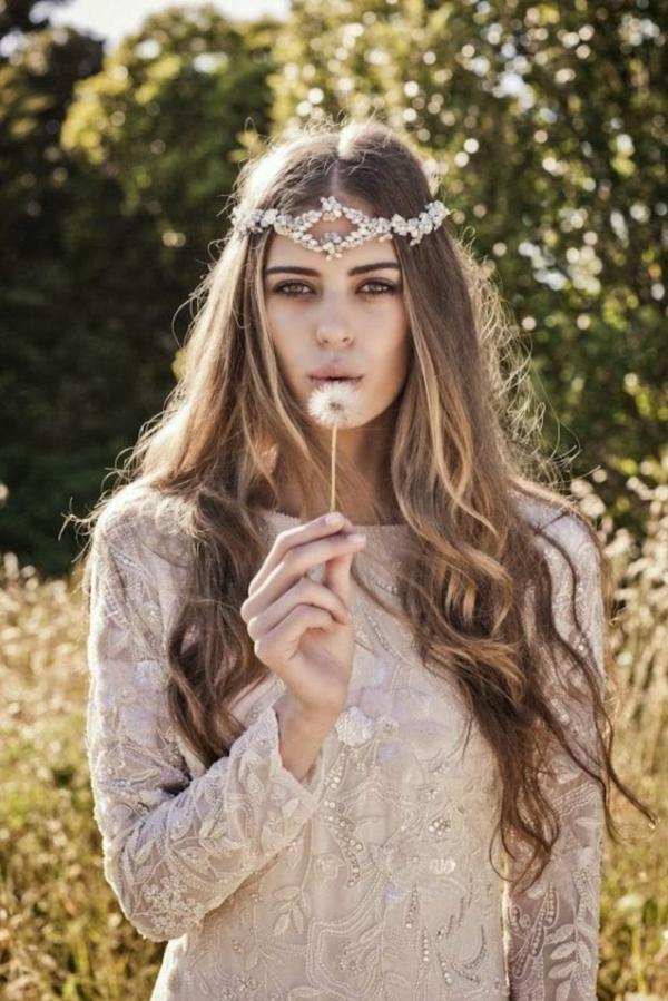 сватбени аксесоари за коса венец