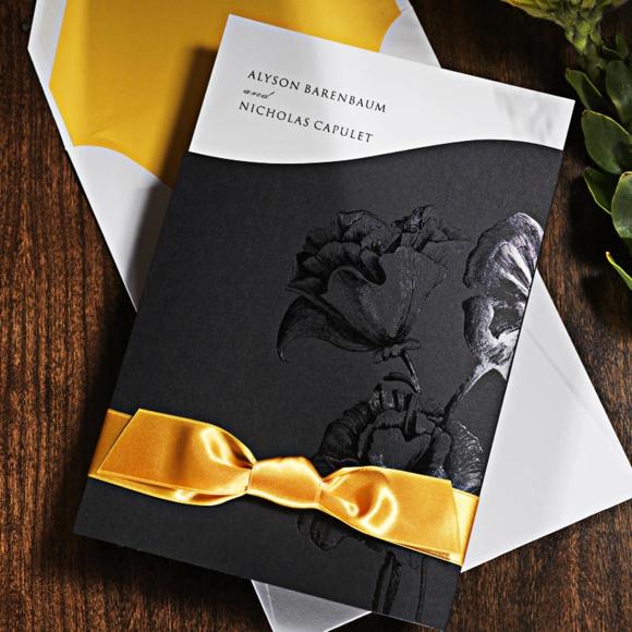 сватбени-покани-идеи-панделка-цветя