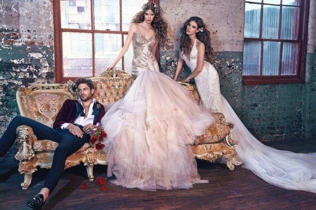 сватбени рокли-дълги