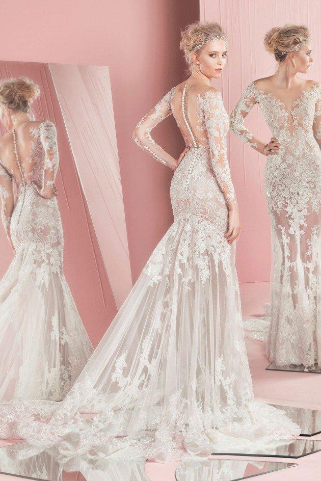 сватбени рокли 2016 дантела