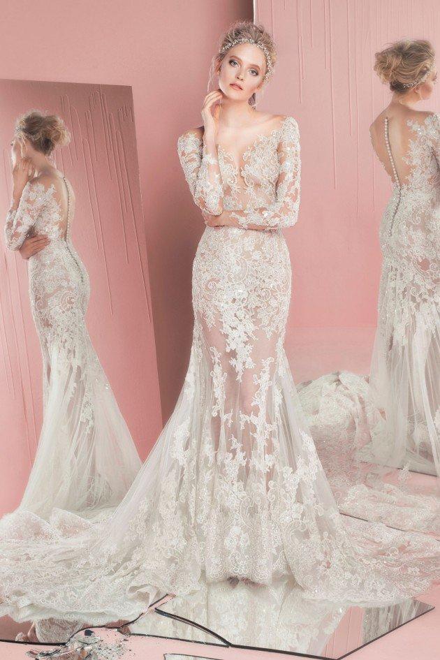 сватбени-рокли-2016-дълъг-ръкав-дантела