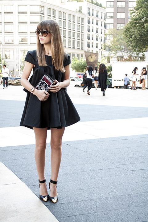 стрийт-стайл-малка-черна-рокля-нюйорк