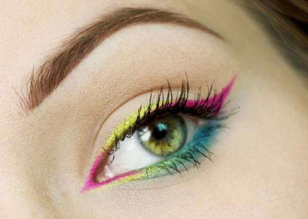 шарен грим за зелени очи идеи