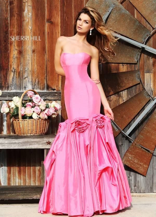 Шаферски-рокли-розово