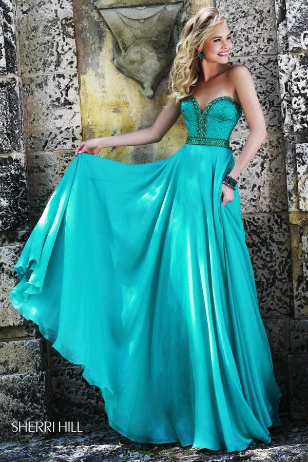 Шаферски-рокли-в-синьо-зелено