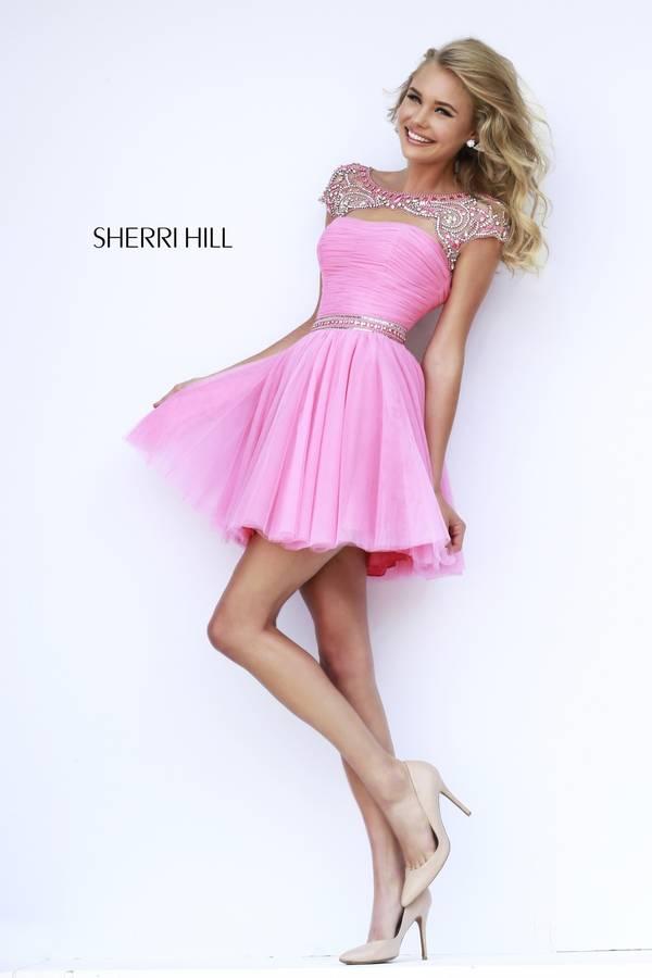 Шаферски рокли къси