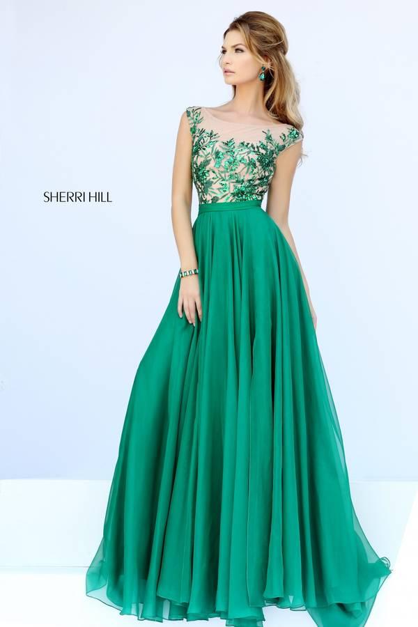 Шаферски-рокли-дълги-зелено
