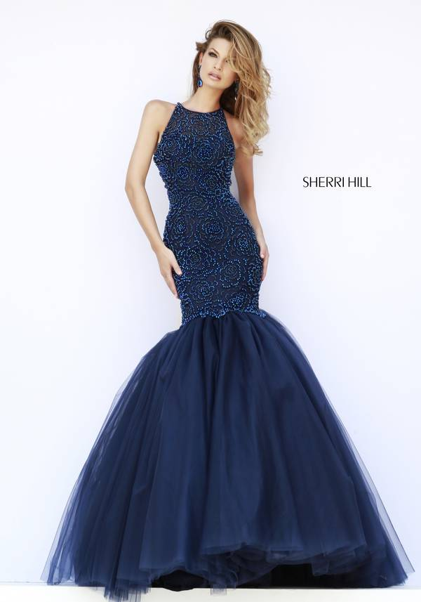 Шаферски-рокли-в-тъмно-синьо