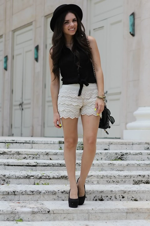 beli danteleni pantalonki street style