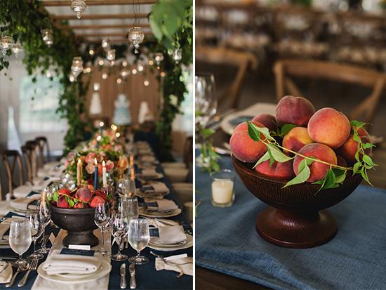 декорация на сватбена маса