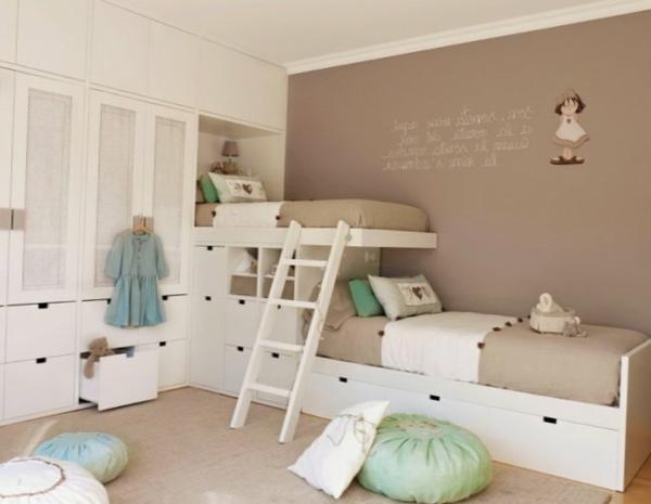 детска стая за две момичета дизайн интериор обзавеждане