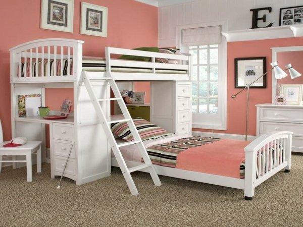детска стая за две момичета интериор дизайн обзавеждане