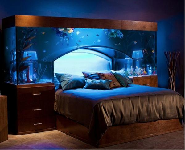 akvarium v spalnq ideq