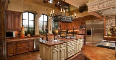 Дизайн на кухня в традиционен стил