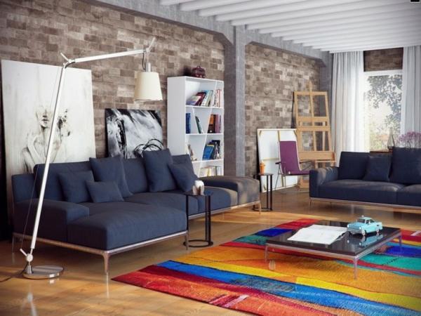 interioren dizain hol art stil mebeli divan obzavejdane