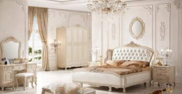 dizain-spalnq-interior-frenski-stil-obzavejdane-leglo-shkaf