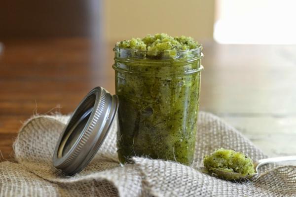 domashen eksfoliant zelen chai recepta