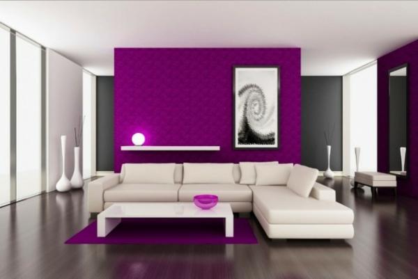 hol lilavo interioren dizain bqlo divani obzavejdane