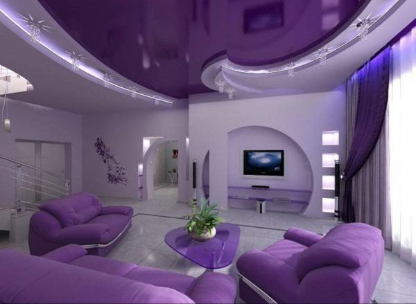 hol lilavo mebeli interior dizain divani obzavejdane