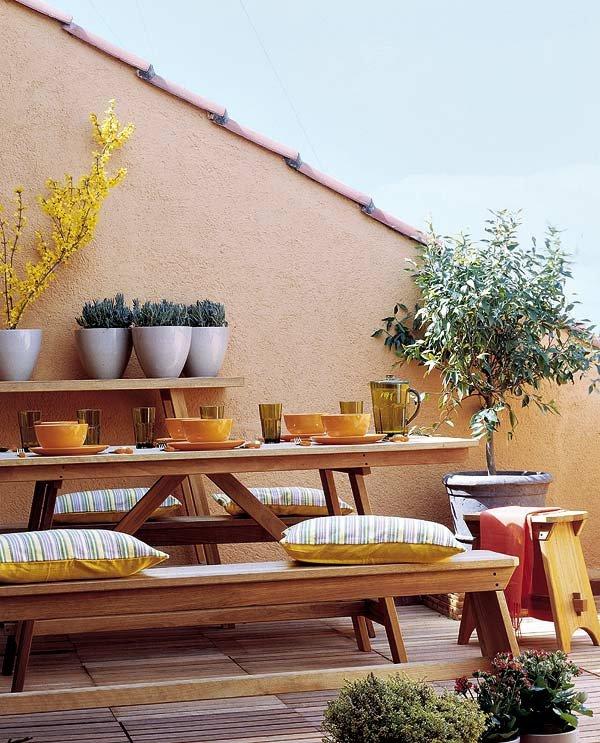 idei dekoraciq terasa cvetq vazglavnici