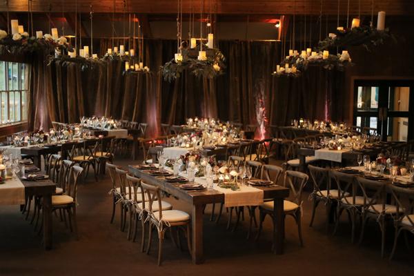 идея за нестандартна сватба ресторант декор