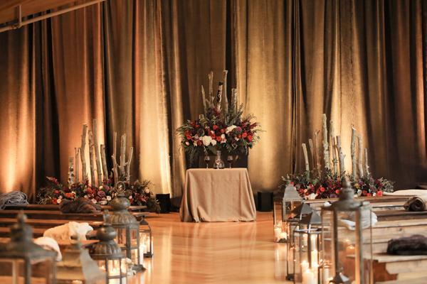 идея за сватбена декорация