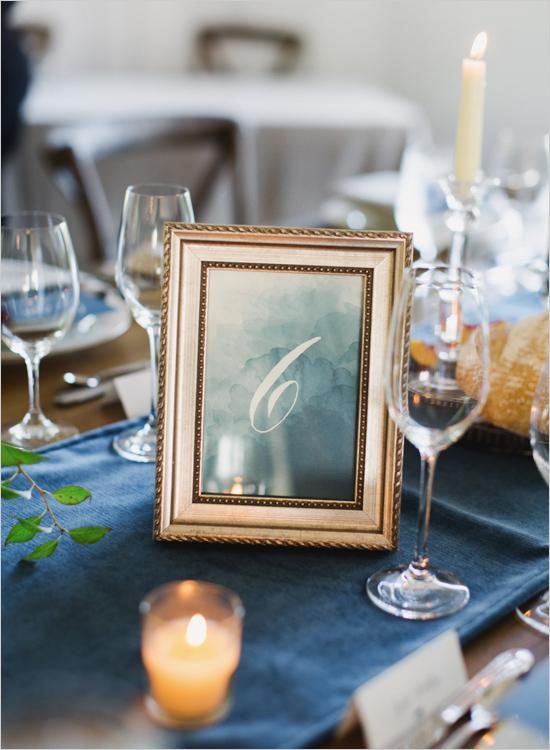 идея за декорация на сватбена маса