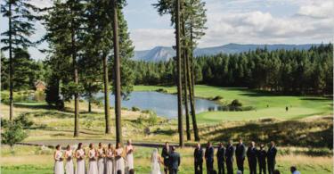 ideq za svatba na brega na ezero ceremoniq