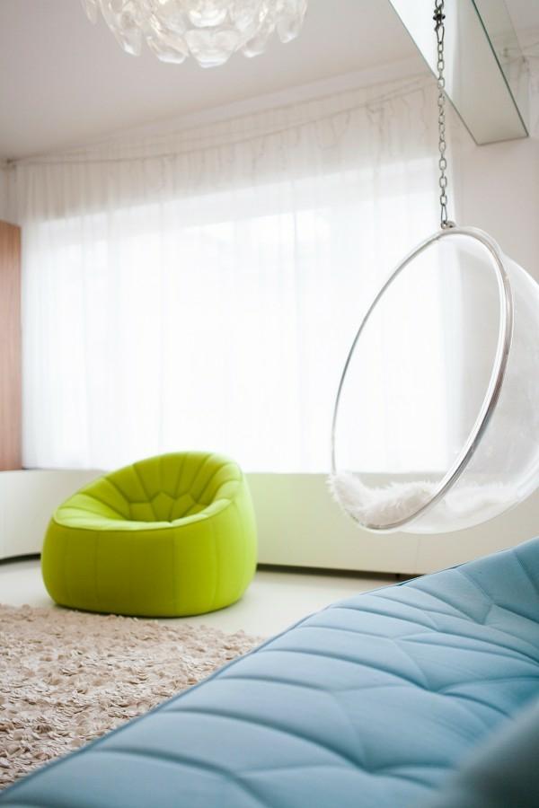 interioren dizain apartament futuristichen stil zavesi hol bqlo
