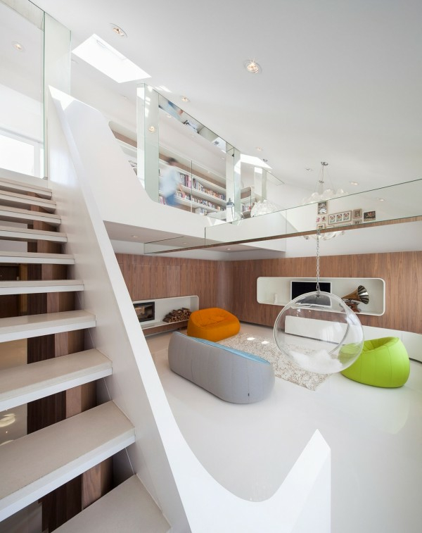 interioren dizain apartamen futuristichen stil mebeli obzavejdane