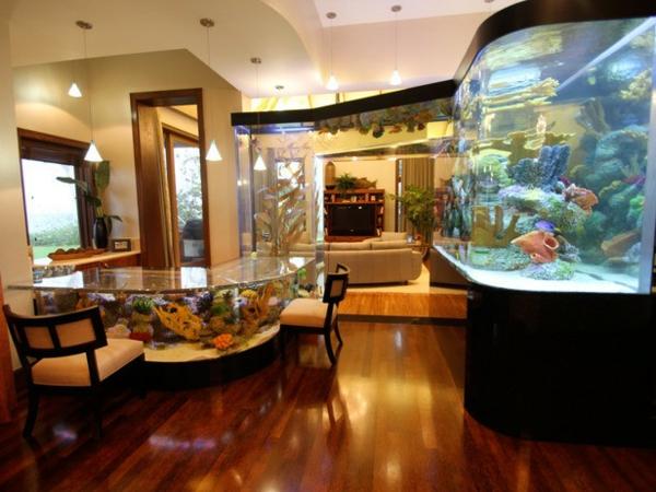 interioren dizain akvarium idei