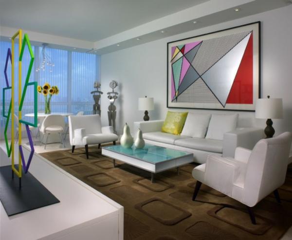 hol art stil interioren dizain obzavejdane kartina bqlo divani