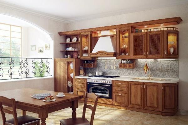 interioren dizain kuhnq tradicionen stil darvo obzavejdane kafqvo