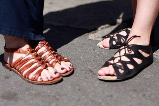 letni kojeni sandali