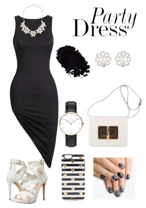 парти-визия-черна-рокля