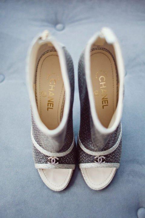 сватбени обувки chanel